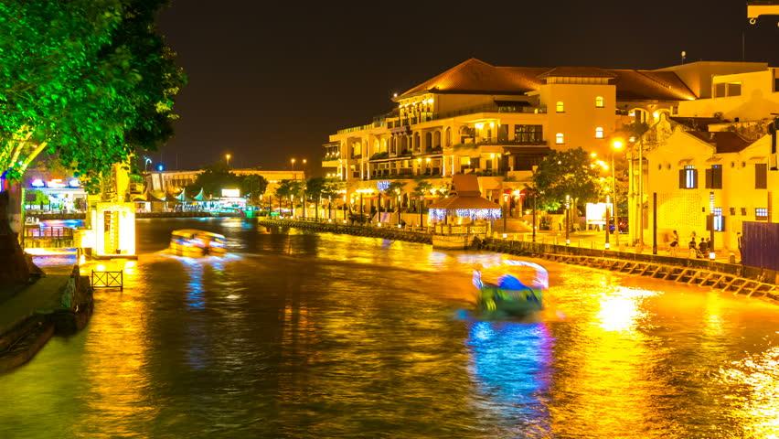 san juan puerto rico night time time lapse at the city