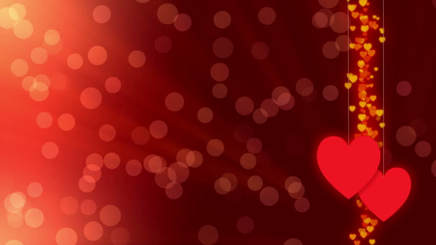 Stock Video Clip Of Wedding Background Red Abstract And Heart Shutterstock
