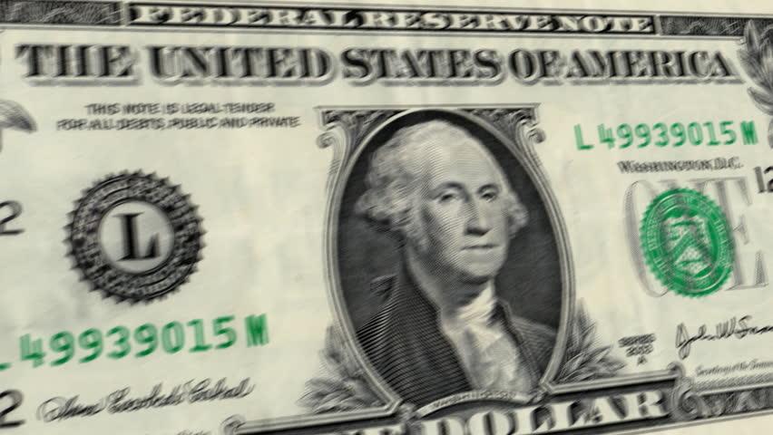 U.S. $1 Dollar Bill Explodes HD   Shutterstock HD Video #1734781