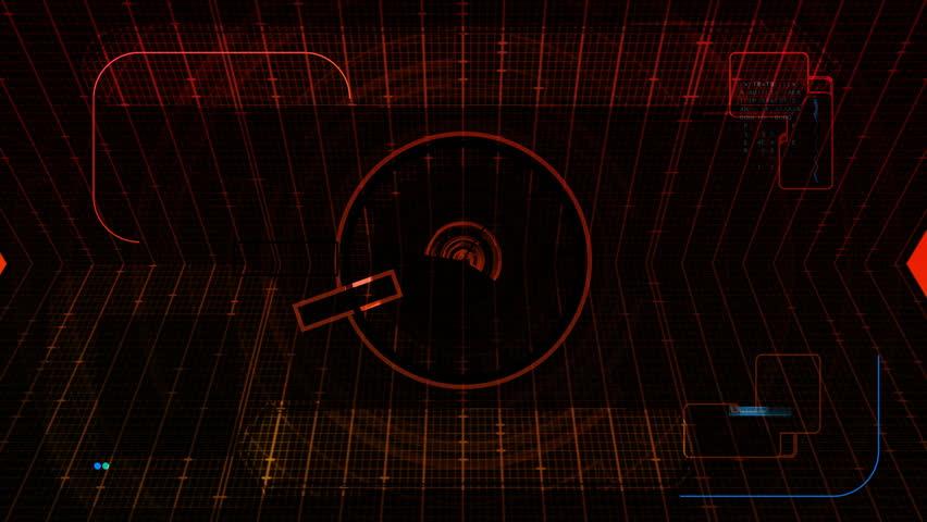 Fingerprint Security Scan Technology HD