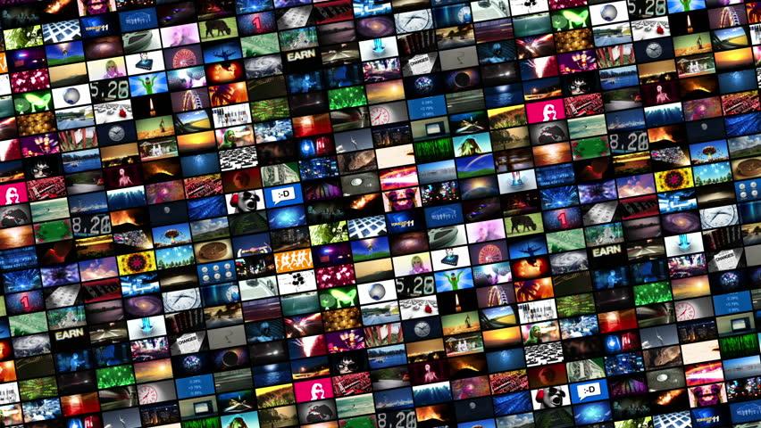 Video Wall Montage Loop