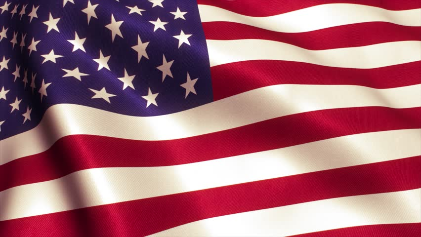 USA American Flag. Seamless Looping Animation. 4K High Definition Video | Shutterstock HD Video #17560039