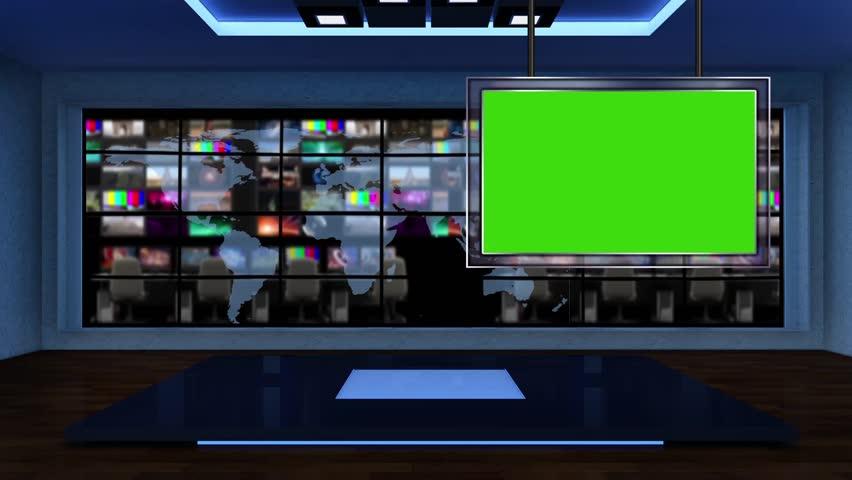 Tv Studio Background Stock Footage Video  Shutterstock
