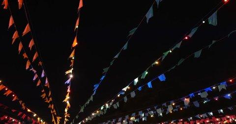Tradicional Junina Party (Festa Junina) in Sao Paulo, Brazil.