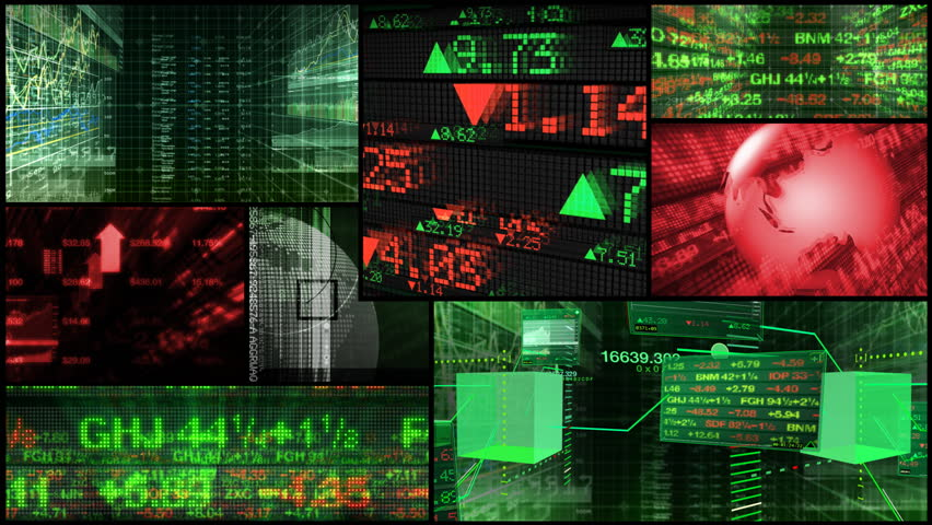 Stock Market and Financial Data Montage | Shutterstock HD Video #1764551