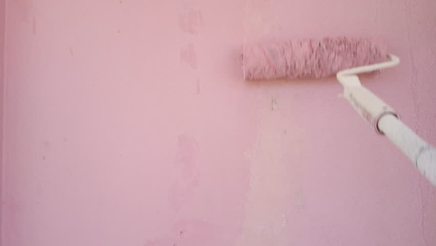 Hand Painting Wall | Shutterstock HD Video #17660611