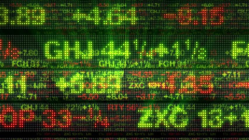 Stock Market Data Tickers Board | Shutterstock HD Video #1769627