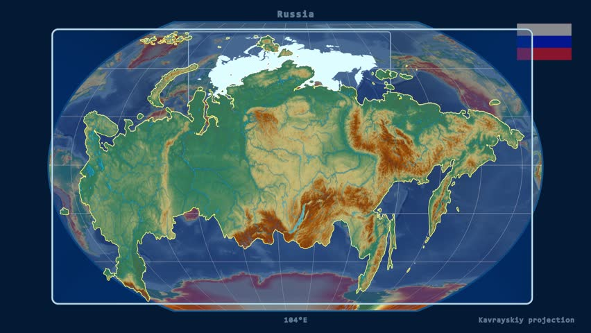 Zoomed-in View of a Russia Stock Footage Video (100% Royalty-free) on red sea in map, yellowstone falls map, see a world map, new world map,