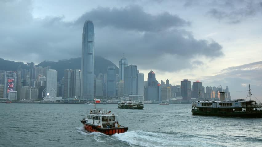 Hong Kong skyline | Shutterstock HD Video #17729341
