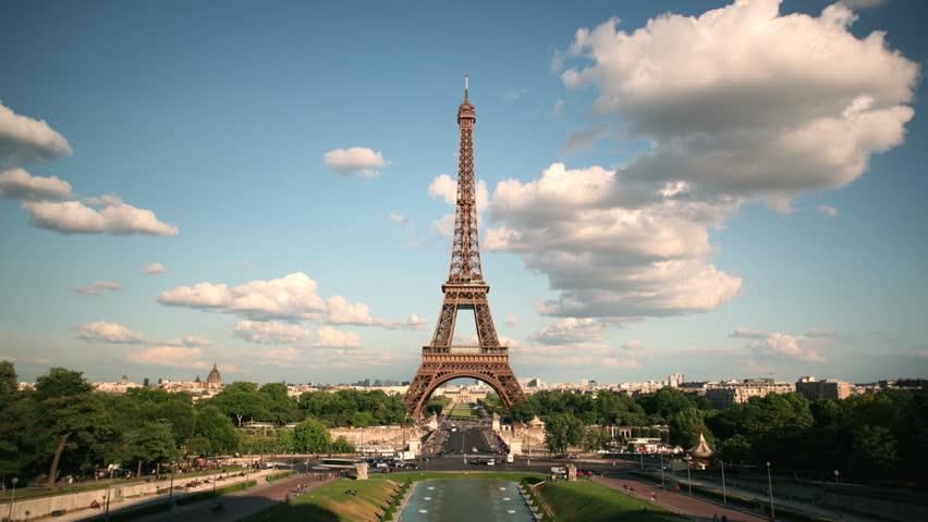 Timelapse Eiffel Tower