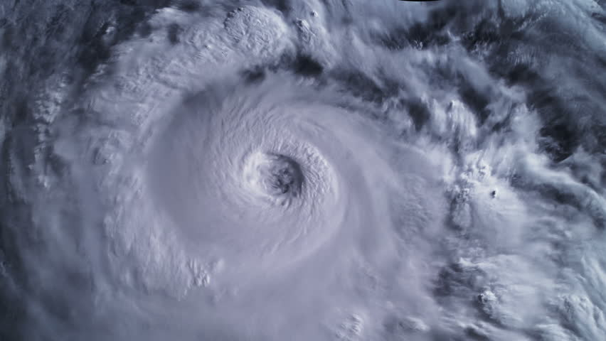 Hurricane Storm, tornado, satellite view. Elements of this image furnished by NASA