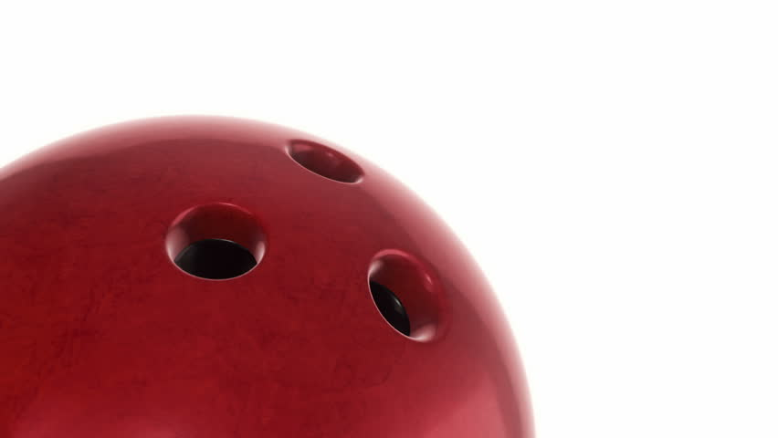 Animation of slow rotation ball for bowling game. View of close-up with realistic texture and light. Animation of seamless loop. | Shutterstock HD Video #17913106