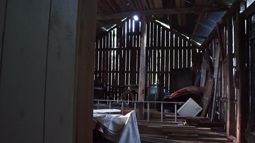 Header of barn