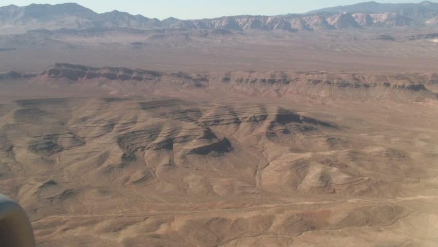 View of a Desert, Las Vegas | Shutterstock HD Video #1797701