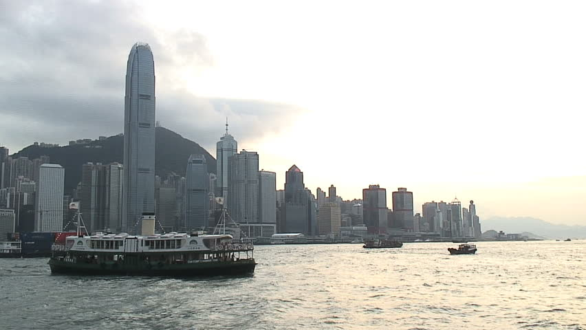 Pan: Hong Kong Skyline and Victoria Harbour