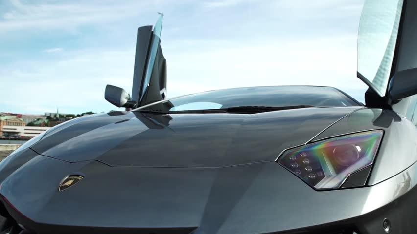 Epic Lamborghini scene