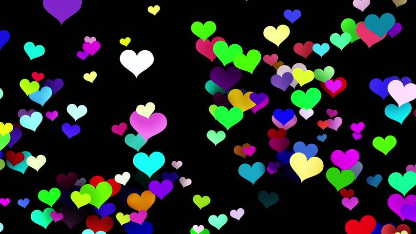 Смотреть картинки сердечки разноцветные анимации, картинкой парню картинки