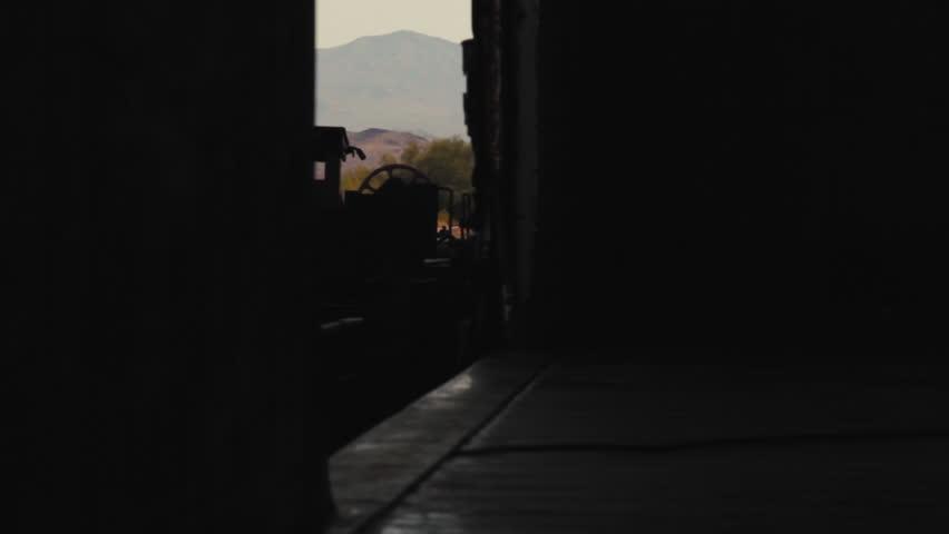 Freight Train Box Car POV Desert Arizona Mountains 6 | Shutterstock HD Video #18184399