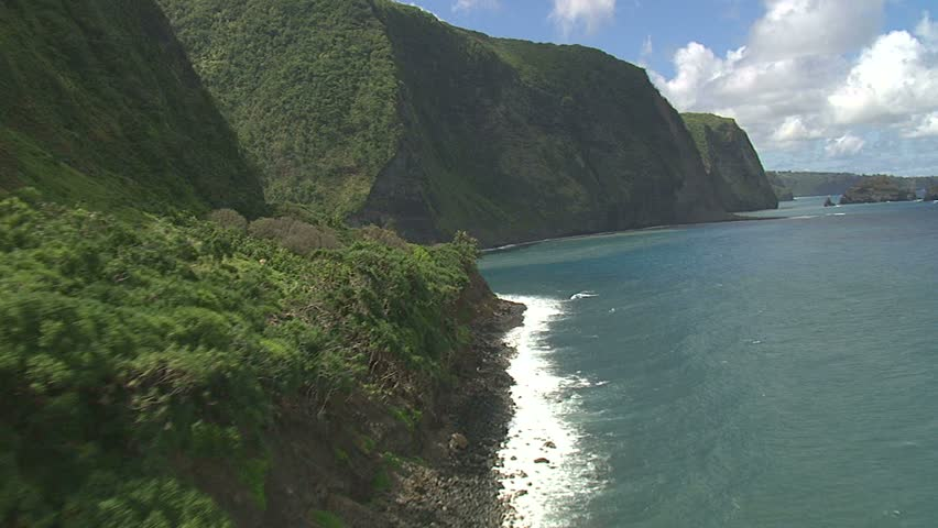 Hamakua Valley, along Northern coast of Hawaii Island