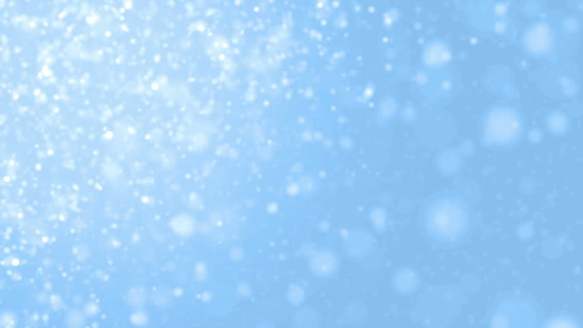 Elegant Blue Abstract With Snowflakes Christmas Stock