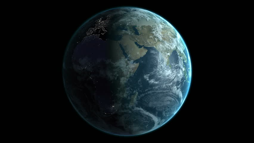 Animation of spinning earth | Shutterstock HD Video #18296281