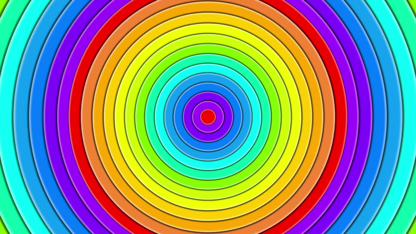 Funny Spinning Hypnotic Background. Abstract Spiral Rotation ...