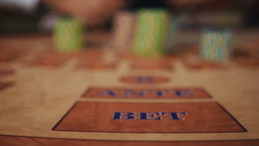 Hands frame - the dealer pushes the player's winnings in a puff of smoke   Shutterstock HD Video #18405532