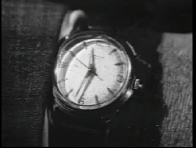Close-up wrist watch