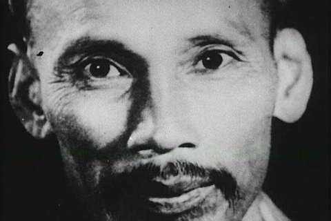 Ho Chi Minh\xEAs political upbringing and educational cultivation in 1963, comes to fruition with his declaration of independence for Vietnam after WWII in 1945. (1960s)