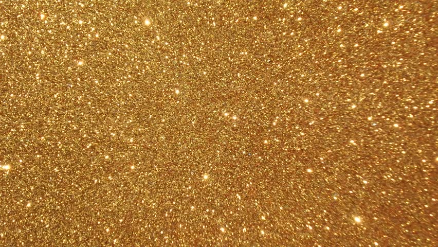 Hd0019Moving Golden Glitter Lights