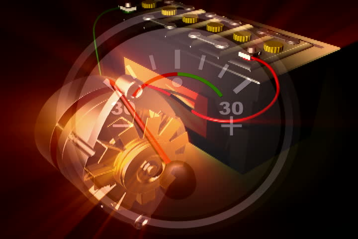 Footage of an alternator charging an automobile battery | Shutterstock HD Video #187090