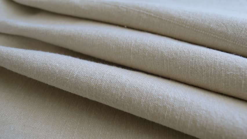 Fabric, cloth, textile texture. Textile closeup, grey linen fabric with large texture. | Shutterstock HD Video #18761441