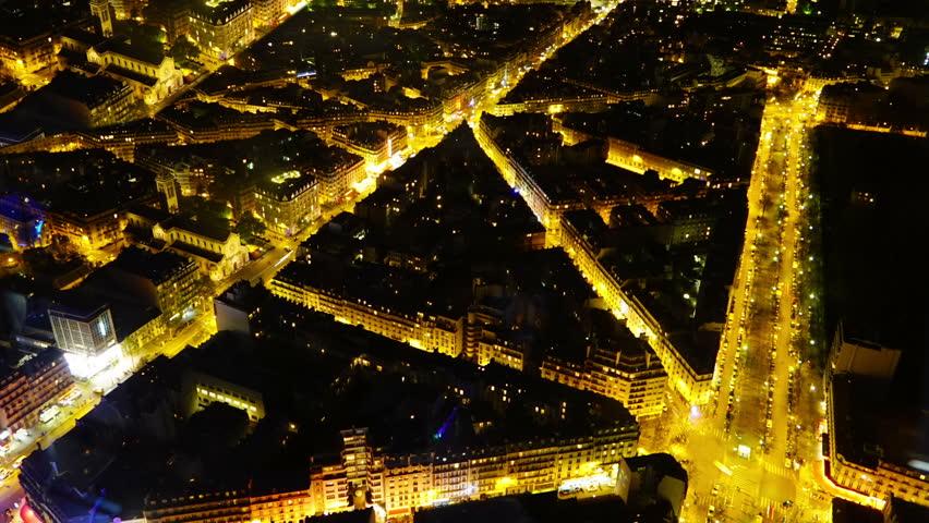 Paris Night Streets France | Shutterstock HD Video #18817790