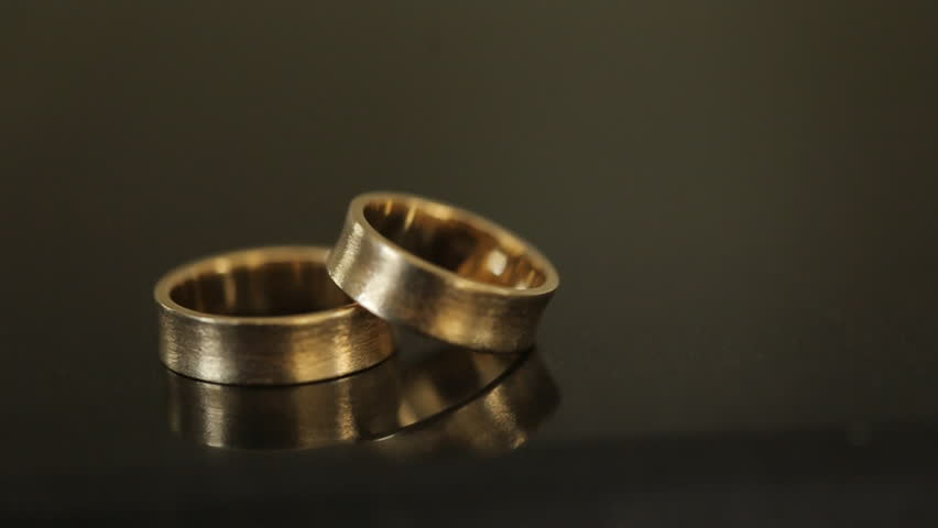 A Gold Ring Beauty Full Stock Footage Video