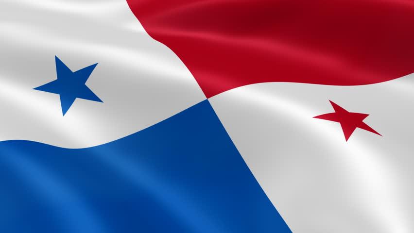 Flag Of Panama Stock Footage Video Shutterstock - Panama flag