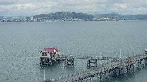 Still Shot of Mumbles Pier in Swansea