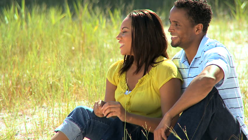Young ethnic couple enjoying time together outdoors #1907461