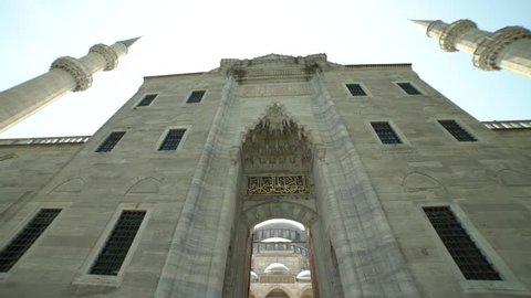 suleiman inside the mosque, indoor, outdoor