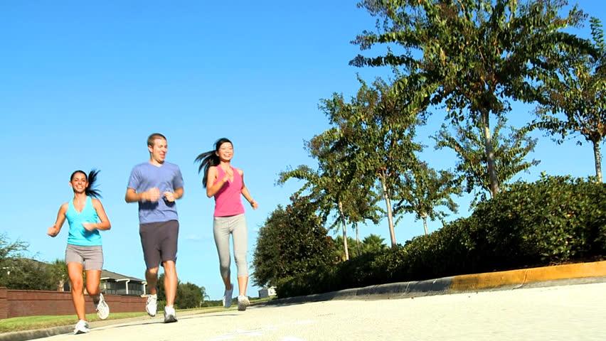 Resultado de imagen para jogging friends