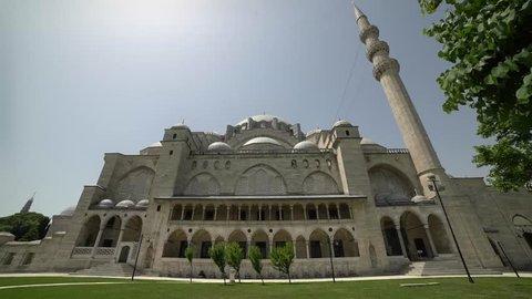 Suleymaniye Mosque Outside, ottoman architure, osmanli mimarisi, mimar sinan.