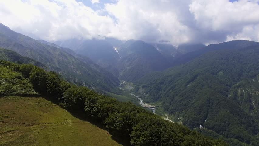 Hakuba valley in summer