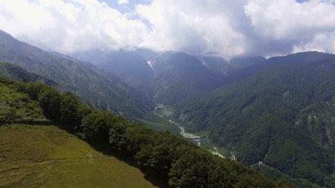 Hakuba valley in summer