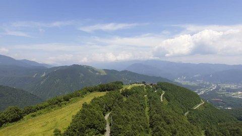 Hakuba sky in summer
