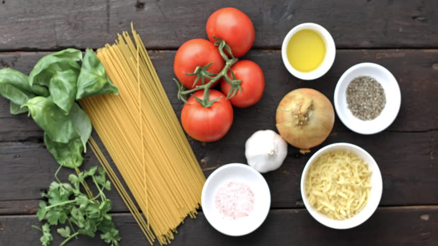 4k time lapse of womans hands taking picture of italian 4k time lapse of womans hands taking picture of italian vegetarian pasta ingredients for recipe with forumfinder Image collections