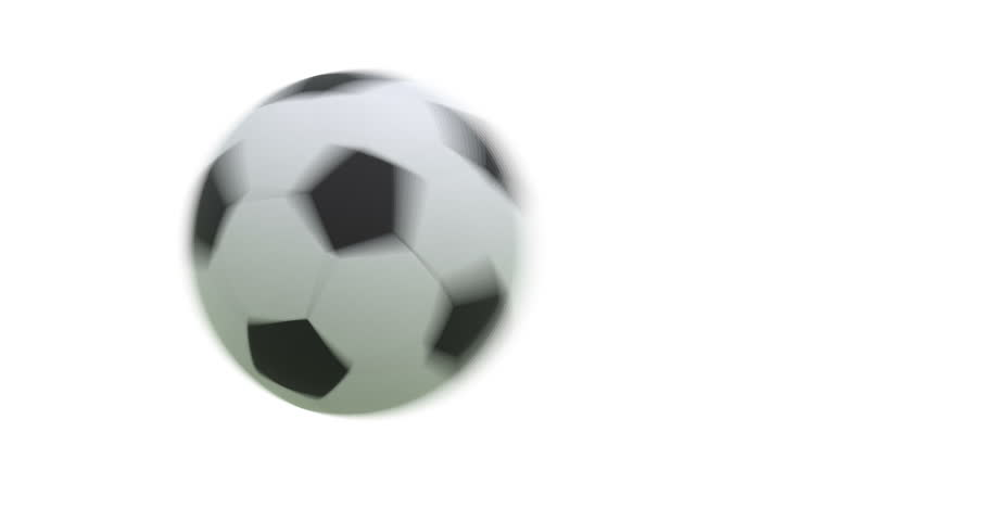Flying soccer ball with alpha 3D render. 4K | Shutterstock HD Video #19227901