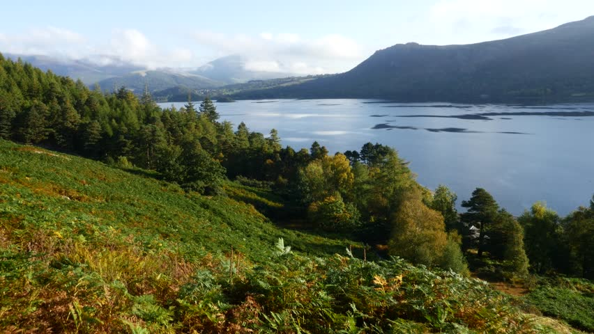The lovely Derwentwater near Keswick in cumbria shot in 4K with the lumix GH4