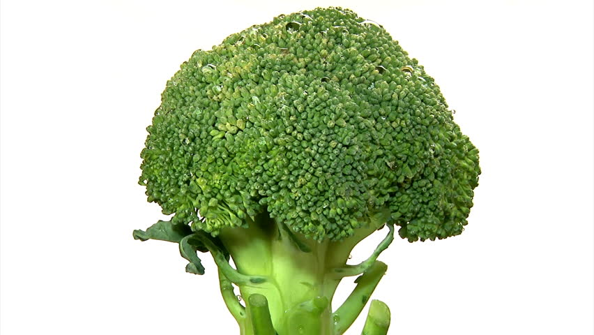 Broccoli, rotate, 3 clips sequence
