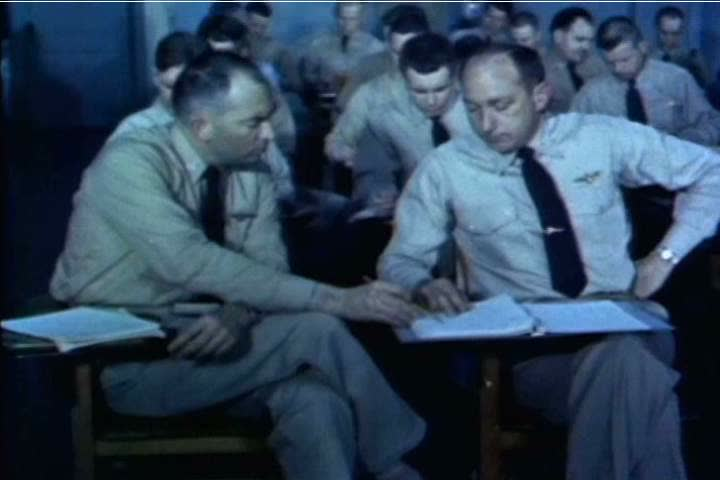 Pilots with different specialties are recruited for the US Naval Test Pilot School in 1959. (1950s)