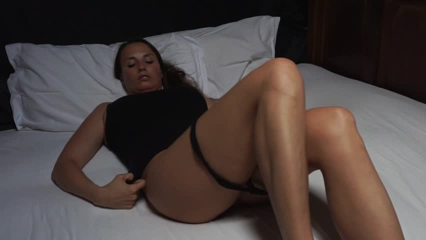 close up sexy model veronika taking off panties  - full hd slow motion video