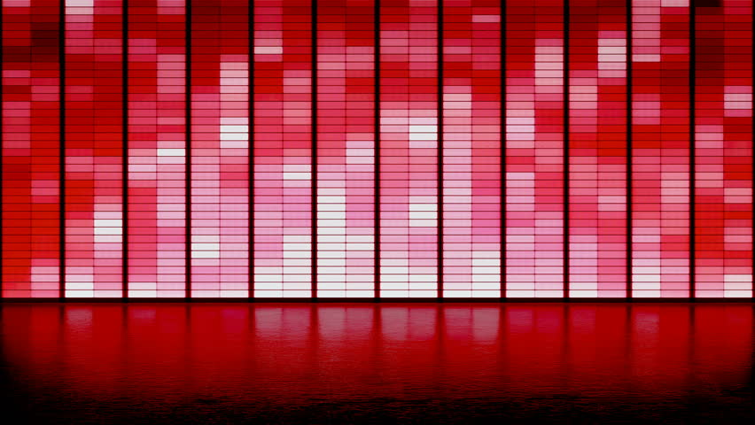 LED panel wall background. club dance